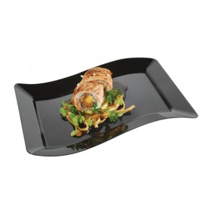 Rectangular Salad Plate - 25cm (10pk)