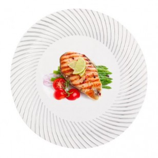 Silver In Style 10'' Dinner Plates (10pk)