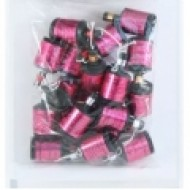 Pink Holographic Party Poppers (20pk)