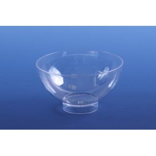 Clear Round Raised Pot (12pk)