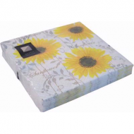 Yellow Sunflower 3ply Paper Napkins (20pk)