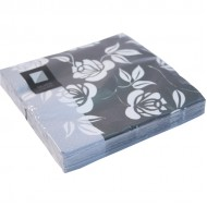White Rose 3ply Paper Napkins 33cm (20pk)