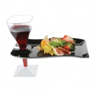 Rectangular Cocktail Plate (10pk)