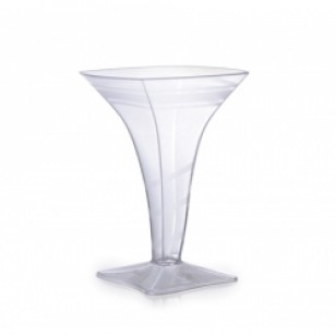 Mini Square Martini Glass - 2 Oz. (8pk)