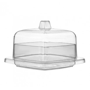 2.4 inch Square Tiny Domain With Lid (12pk)