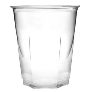 9 oz Crystal Plastic Cup (50pk)