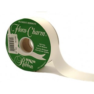 2 Inch Ribbon - White