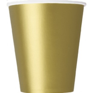 Gold Paper Cup (14pk)